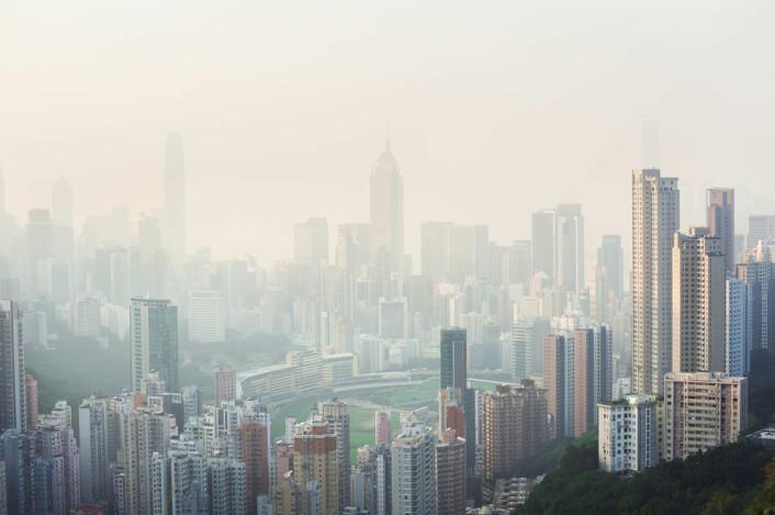 Forurensning over Hong Kong. (Foto: Stripped Pixel/Microstock)