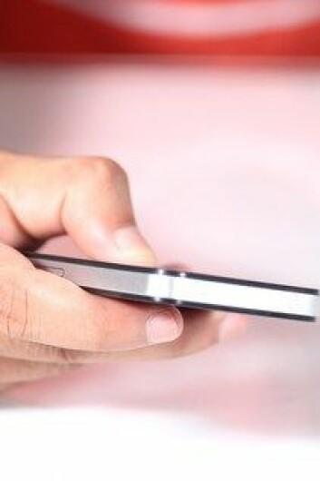 En ny app skal forhindre at uvedkommende kan avlytte mobiltelefoner. (Foto: Colourbox)