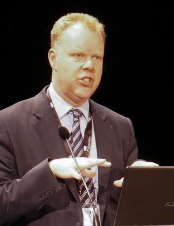 Martin Powell på ESOF 2014 i København. (Foto: Arnfinn Christensen)