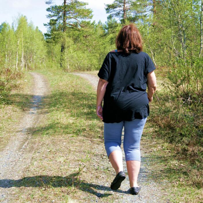 Hjertesyke kvinner med noen kilo for mye har bedre framtidsutsikter enn normalvektige hjertesyke. (Illustrasjonsfoto: Microstock)
