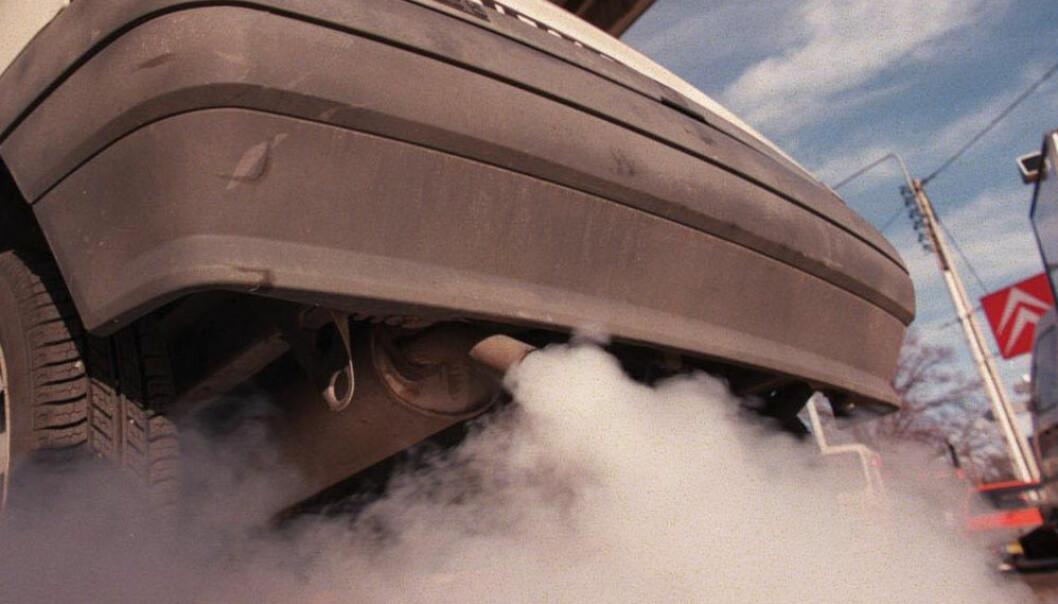 Dårligere luft med diesel