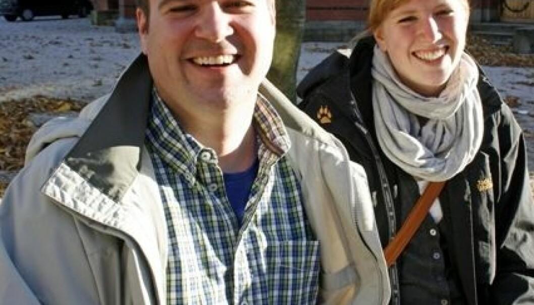 James Hathaway og Susanne Faber. Frøy Katrine Myrhol