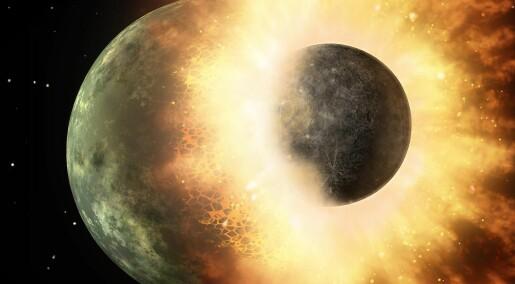 Theia traff jorden og skapte månen, men finnes det noen spor etter den lille planeten i dag?