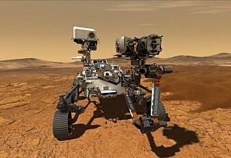 Den nye Mars-roboten har fått navn