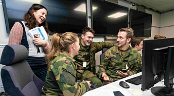 Morgendagens militære ledere øver seg på krig i nettspill