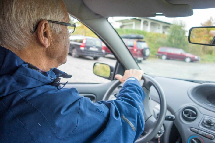 Eldre sjåfører er stort sett forsiktige og ansvarlige. (Foto: Henrik Dvergsdal)