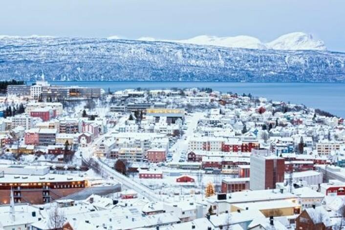 Narvik var en av fire Nordlandskommuner som ble direkte berørt av Terra-skandalen i 2007. Kommunene hadde investert fremtidige kraftinntekter i fondsprodukter med høy risiko i USA. (Foto: Shutterstock)