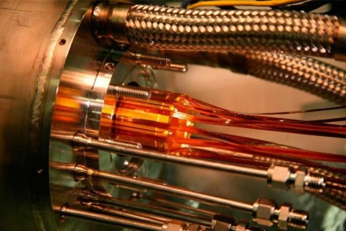 I en avansert maskin ved navn ALPHA, som står ved forskningsinstitusjonen CERN, har en danskledet forskergruppe utført presisjonsmålinger av antihydrogen. (Foto: CERN)
