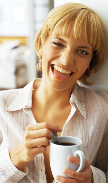 Kaffe kan være vanedannende, men ifølge DTU Fødevareinstituttet ikke så ille som nikotin eller narkotika. (Foto: Colourbox)