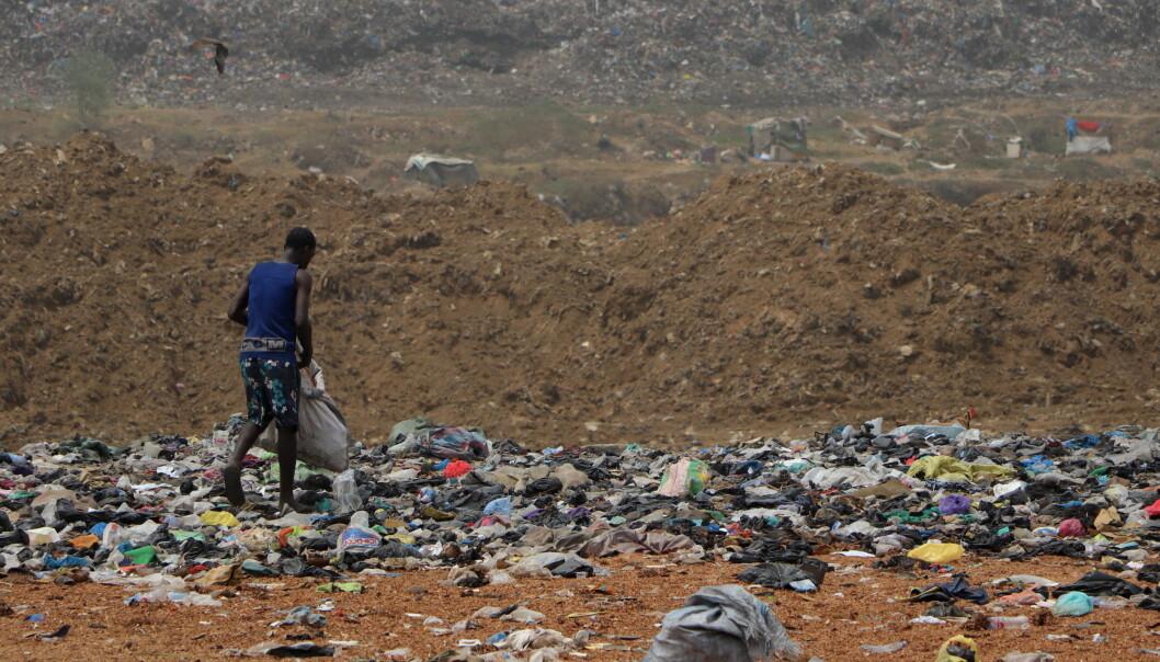 For mange av innbyggerne er resirkulering og sortering av avfall eneste inntektskilde.