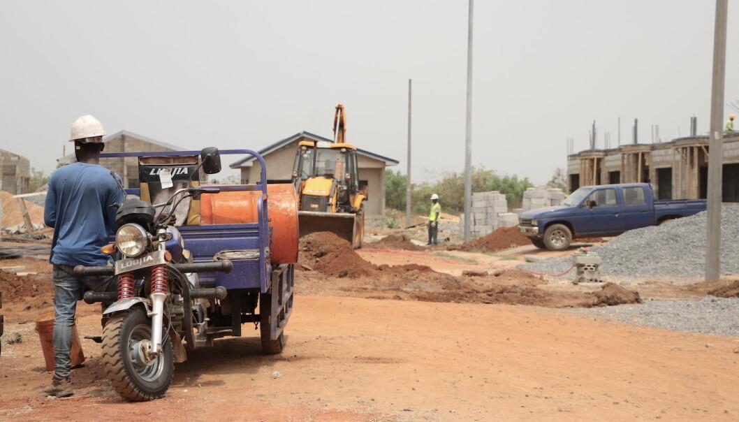 Appolonia er nå en stor byggeplass. Det blir spennende å følge utviklingen av dette mega by-prosjektet.