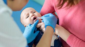Forskere fant ingen sammenheng mellom omgangssyke-vaksine og diabetes 1