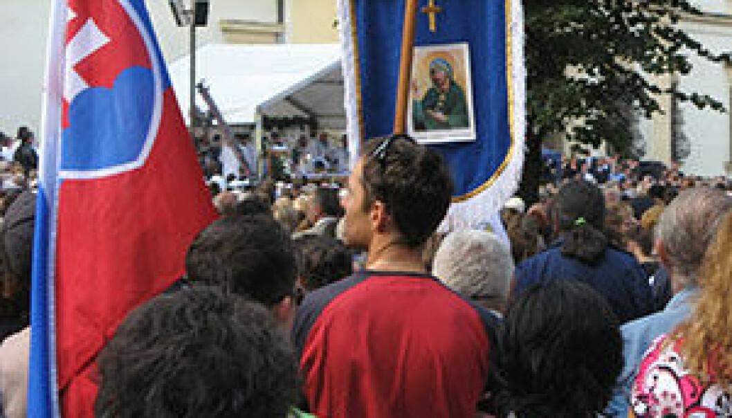 Pilegrimsfarere i Šaštín, Slovakia. Alexander Bielicki