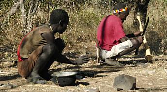 Hadza-folket i Tanzania er like stillesittende som folk i Vesten, men de har god hjertehelse