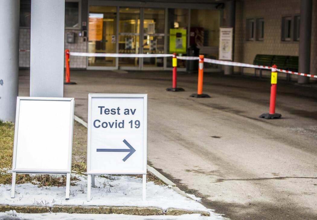 Flere koronasmittede personer er lagt inn på sykehus rundt om i landet, blant dem Oslo universitetssykehus og St. Olavs hospital i Trondheim.