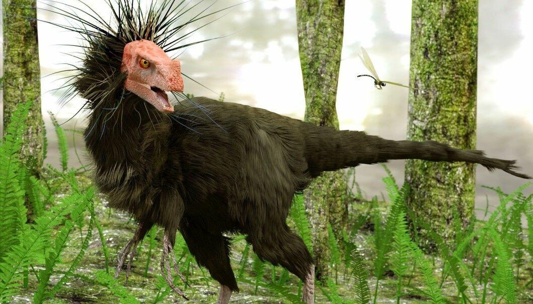 Dette er den samme raptor-dinosauren som over.