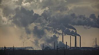 Forsker-opprop: Utslipp av drivhusgasser må halveres på 10 år