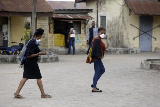Koronaviruset spres i Afrika