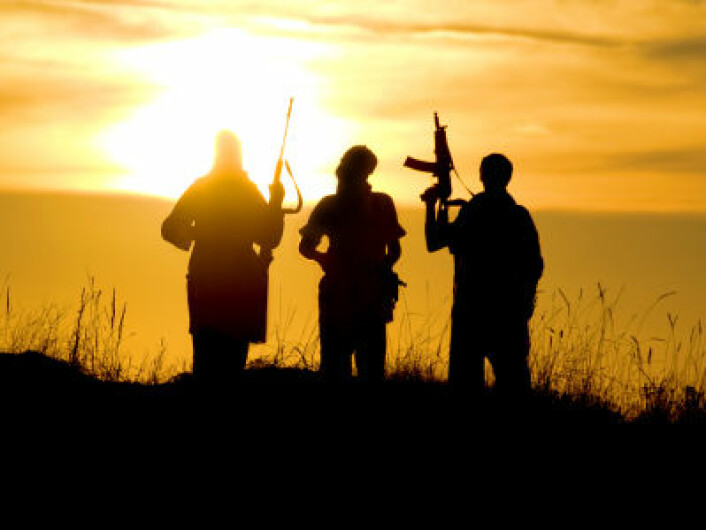 Den vestlige verden snakker ofte om kampen for frihet i forbindelse med krig. (Foto: iStockphoto)