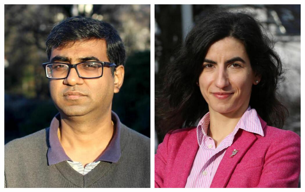 Saket Saurabh og Adriana Bunea er tildelt årets Meltzerpris for yngre forskere.