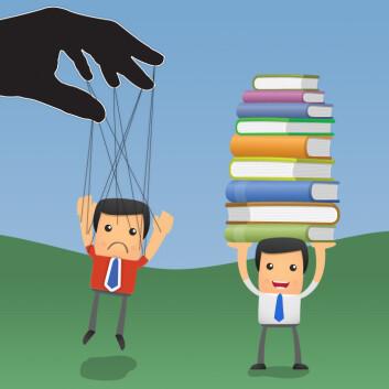 Norske lærerutdanningsreformer styres av politikere, mens finske lærerskoler er langt mer selvstendige. (Foto: (Illustrasjon: Per Byhring / Colourbox))