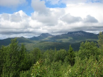 Norge slik vi kjenner det i dag, kan være i ferd med å forsvinne. Bildet er fra Evenes i Nordland fylke. (Foto: Helge M. Markusson, Framsenteret)