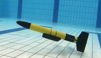 Undervannsrobot skal finne forurensning i havet