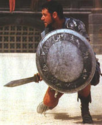 """Russel Crowe spilte Maximus i filmen Gladiator. Var det bare en lek? (Foto: Universal Studios"""