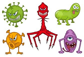 Virus er både venn og fiende