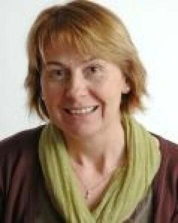 Astrid Grasdal ved Universitetet i Bergen. (Foto: UiB)