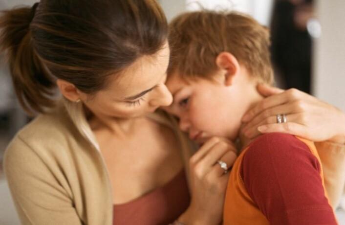 Hvor mye skal foreldre fokusere på barnas mageproblemer? (Foto: www.colourbox.no)