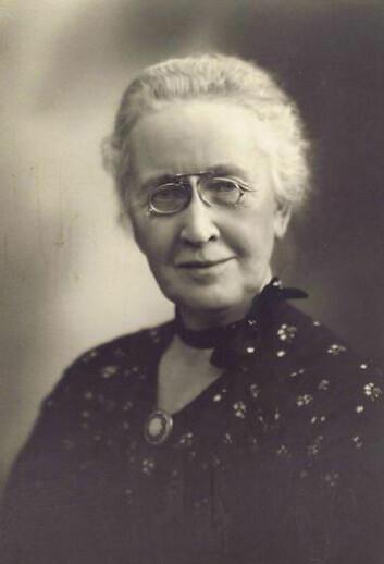 Hilda Johansen på sin 80-årsdag. (Foto: Lauritz Larsen/ Tom Riis)