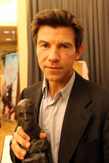 Dag O. Hessen, her da han vant Akademikerprisen i 2010. (Foto: Wikimedia Commons)