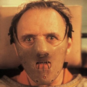 Filmen Nattsvermeren er en av de aller mest suksessfulle filmene om seriemordere. Anthony Hopkins spilte kannibalen Hannibal Lecter, et morderisk geni. (Foto: Orion Pictures)