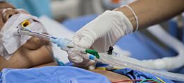 Intensivsykepleiere kvier seg for å pleie pasienter med fedme