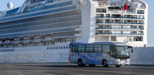 Karantenen på cruiseskipet utenfor Japan gjorde at flere ble smittet