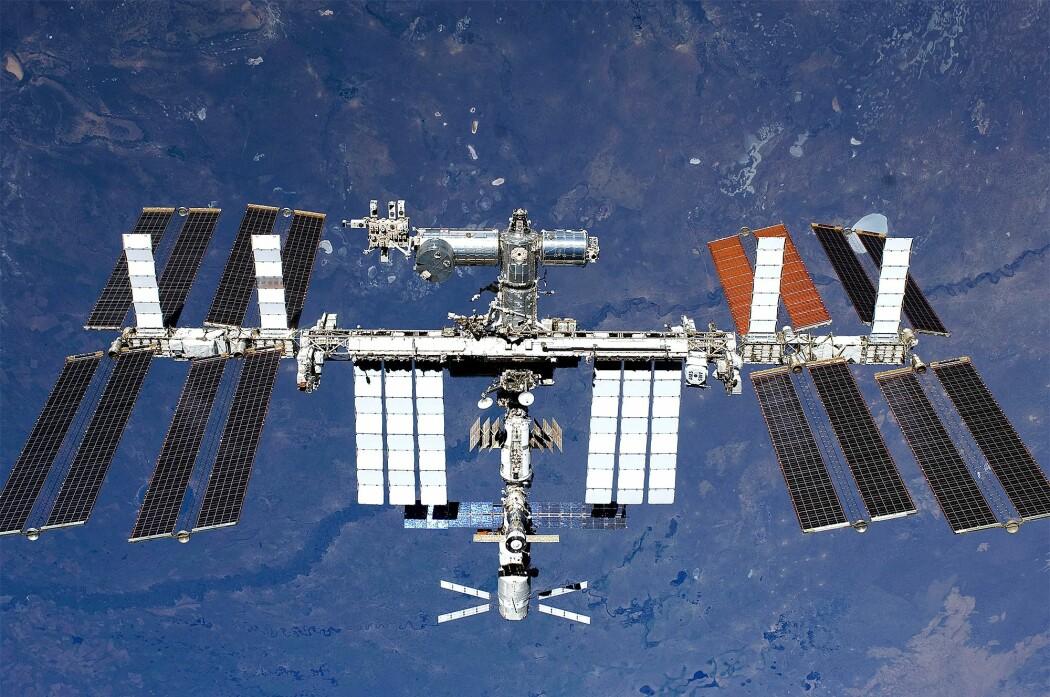 Den internasjonale romstasjonen først påbygd i 1998 er verdens dyreste bygning.