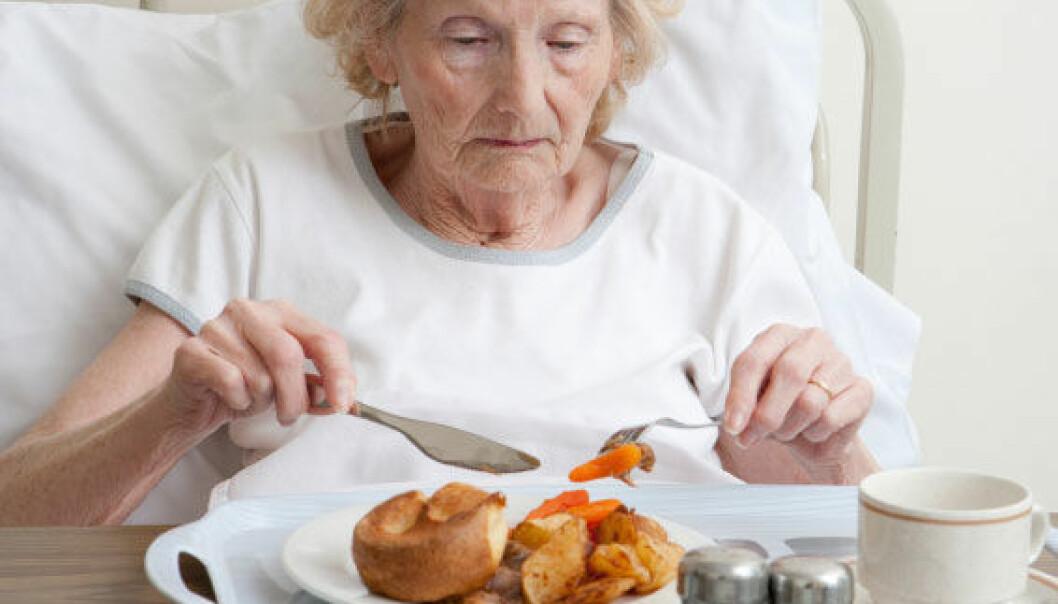 Eldre på sykehjem i Oslo spiser for lite