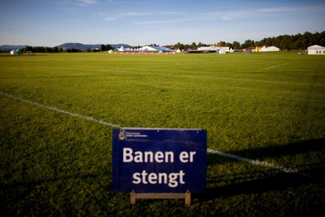 Nesten hele Oslo er stengt. Fotball og andre idretter har blitt avlyst.