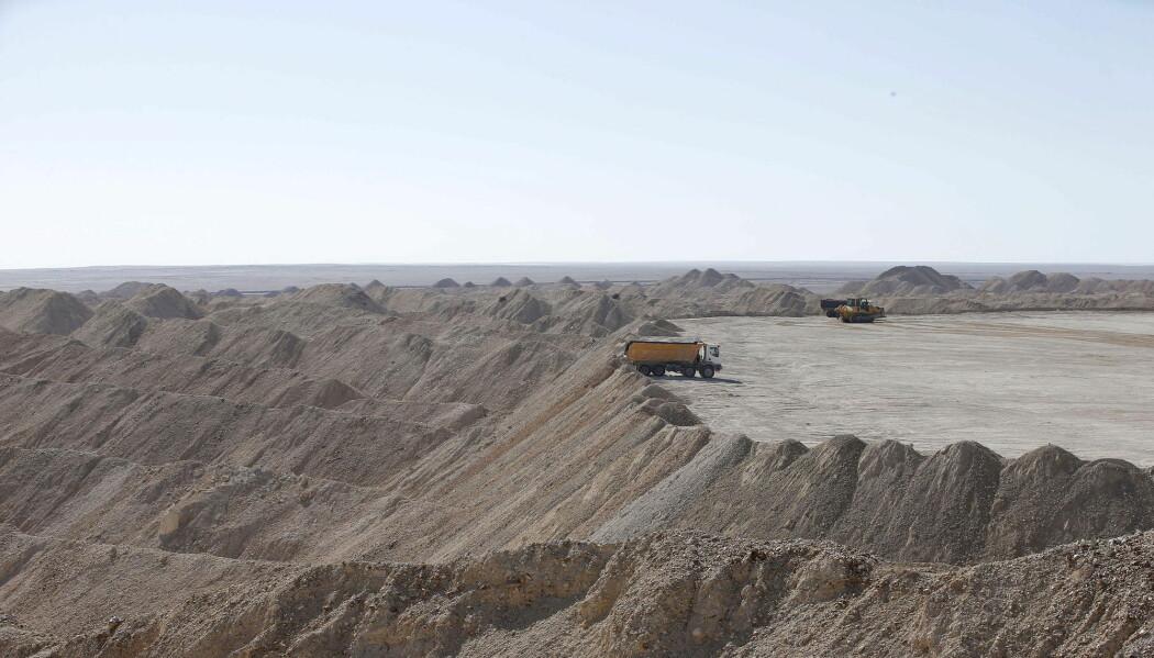 I BouCraa i Vest-Sahara hantes det ut enorme mengder råfosfat til bruk i kunstgjødsel. Hva skjer når disse reservene begynner å tømmes?