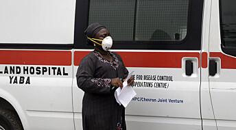 Koronaviruset skyter fart i Afrika