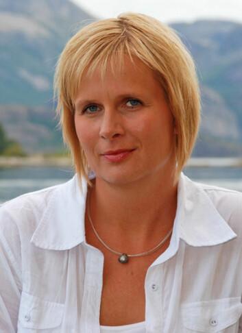 Aina Valland, direktør for miljø i Fiskeri- og havbruksnæringens landsforening. (Foto: FHL)