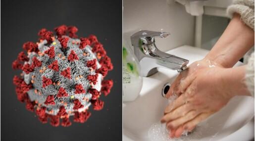 Derfor tar handsprit og handvask knekken på korona