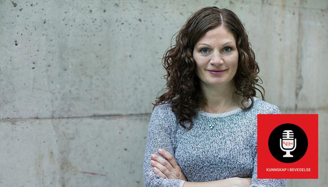 Møt Heidi M. Haraldsen i podcasten frå NIH. Ho har studert tenåringar som har satsa hardt innan utøvande kunst og ulike idrettar.