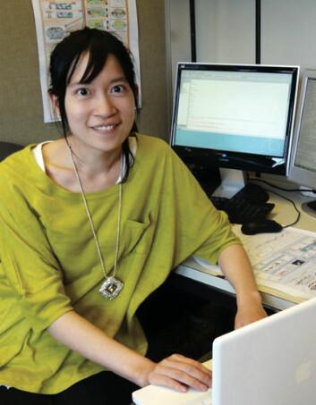 Yen-Ting Hwang ved University of Washington, USA. (Foto: Kristen Rasmussen)