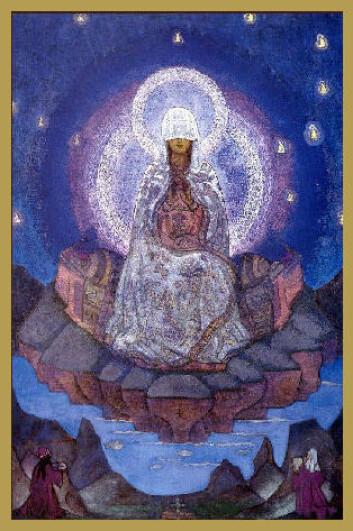 """""""Verdens mor av Nicholas Roerich."""""""