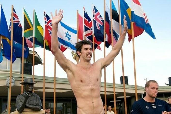 Michael Phelps er beskrevet som den perfekte svømmeren. Det er kanskje ikke helt uventet at han også har betydelige genetiske fordeler. (Foto: JD Lasica/Socialmedia.biz)