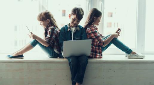 Hva gjør smarttelefonen med barna dine?