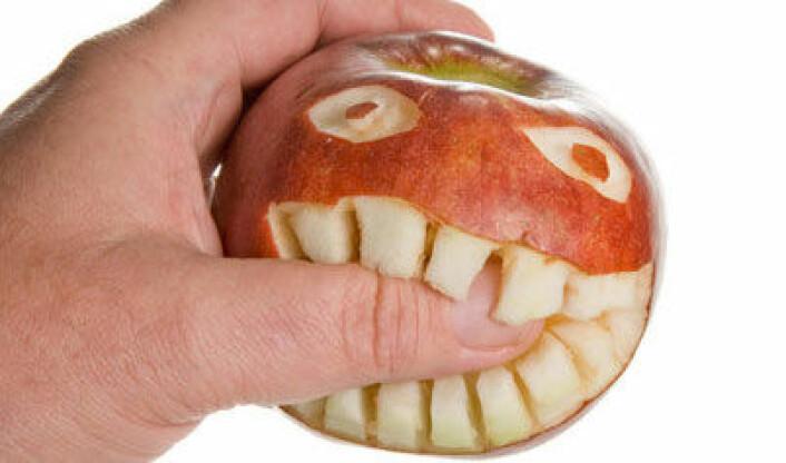 Folk med irritabel tarm tåler ikke den maten vi blir anbefalt å spise, som for eksempel epler, pærer og vannmelon. (Foto: Colourbox.com)