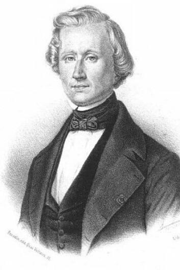 Urbain Le Verrier spilte en viktig rolle i oppdagelsen av Neptun, men døde før det ble klart at Vulcan ikke eksisterte. (Foto: Magnus Manske/Wikimedia Commons)